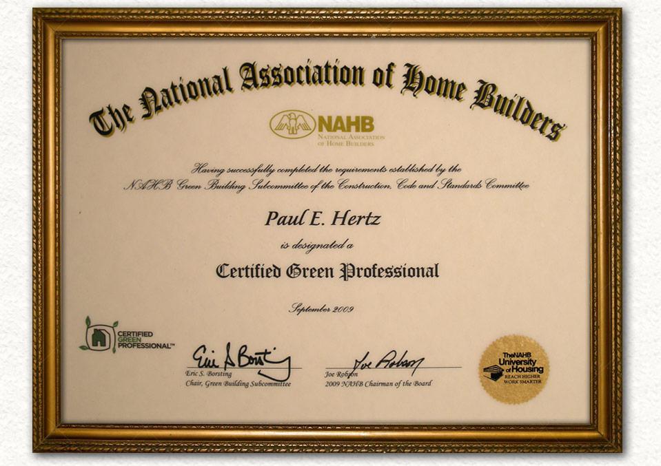 Hertz Construction Certification Awards